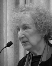 margaret atwood spotty handed villainesses What does the above interview convey about atwood and her views.